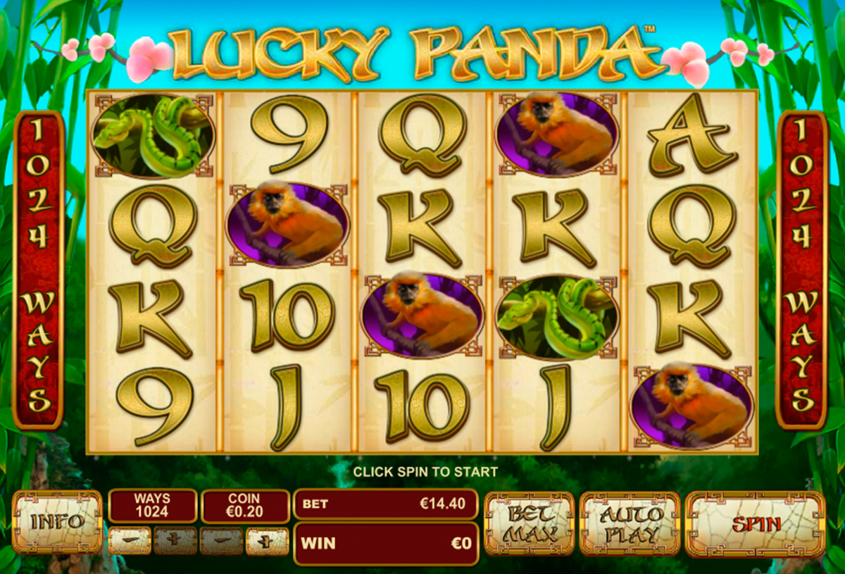 lucky panda playtech