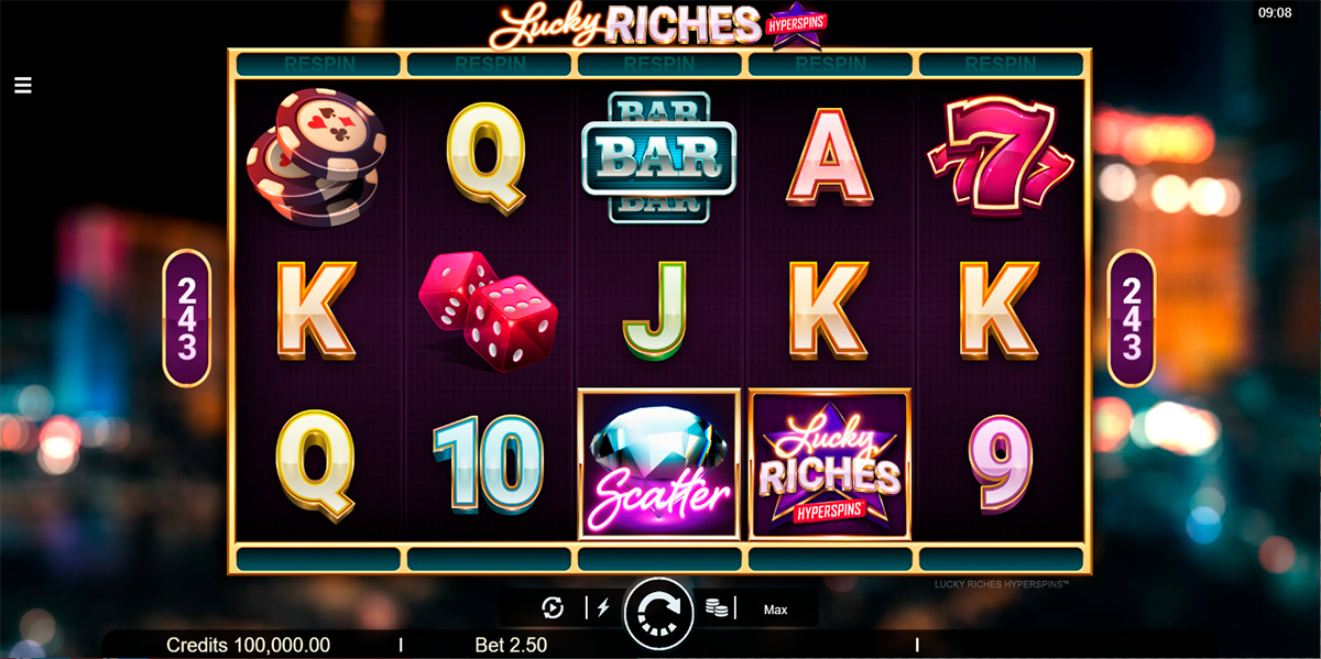 lucky riches microgaming