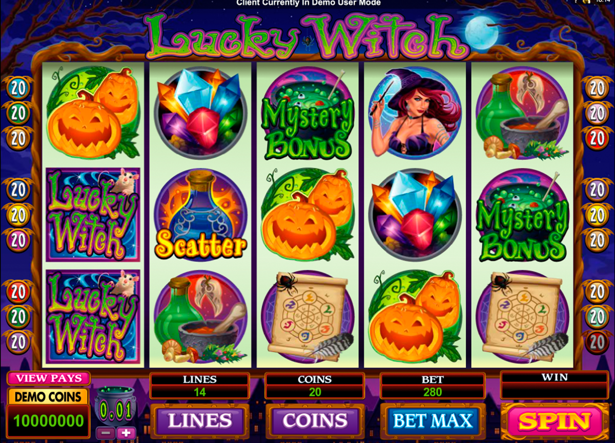 lucky witch microgaming