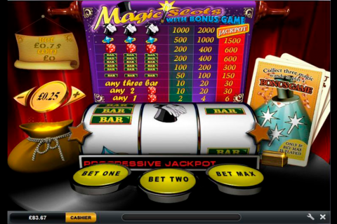 magic slots playtech