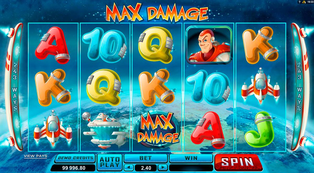 max damage microgaming