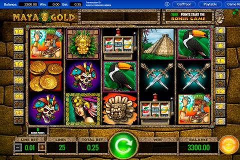 maya gold igt