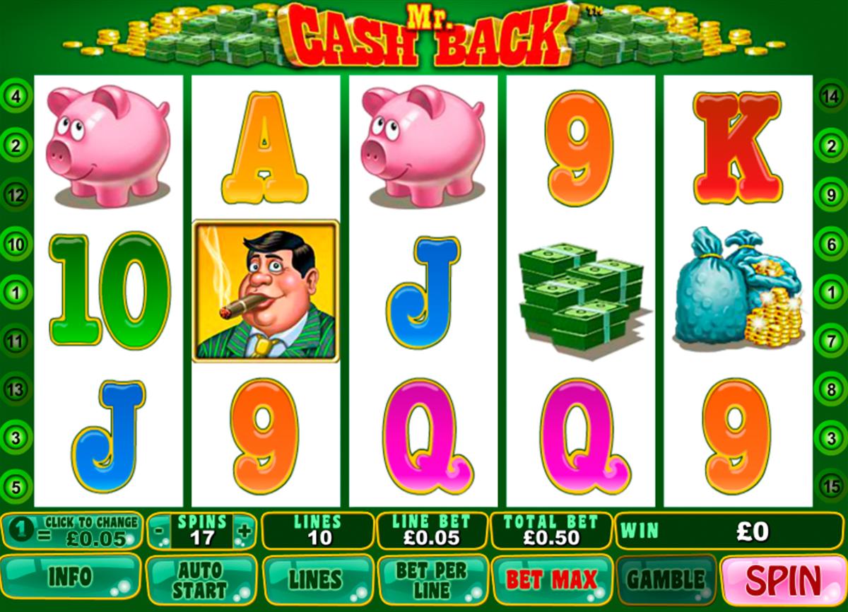 mr cashback playtech