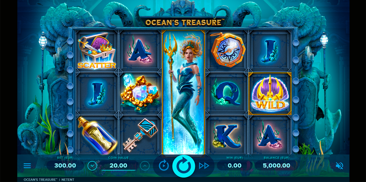 oceans treasure netent