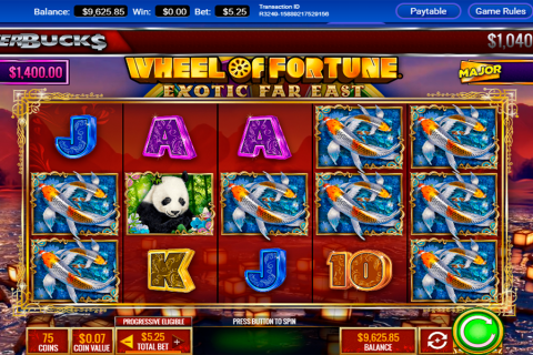 powerbucks wheel of fortune eotic far east igt