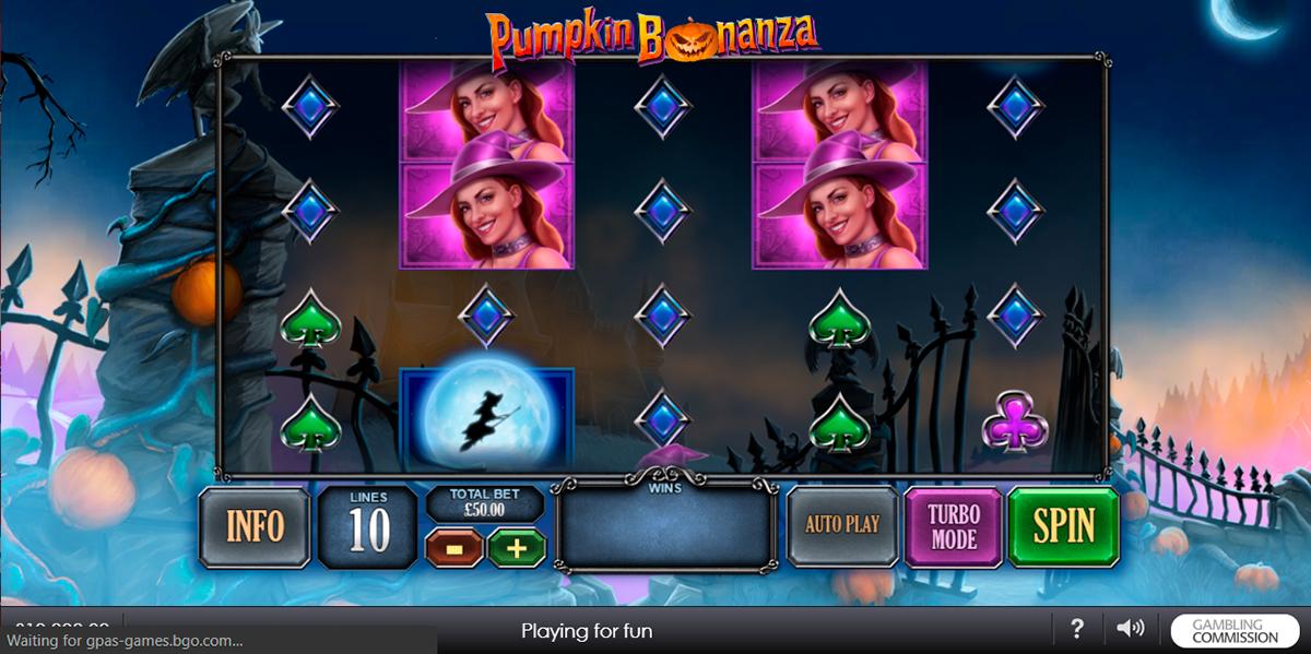 pumpkin bonanza playtech