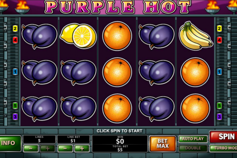 purple hot playtech