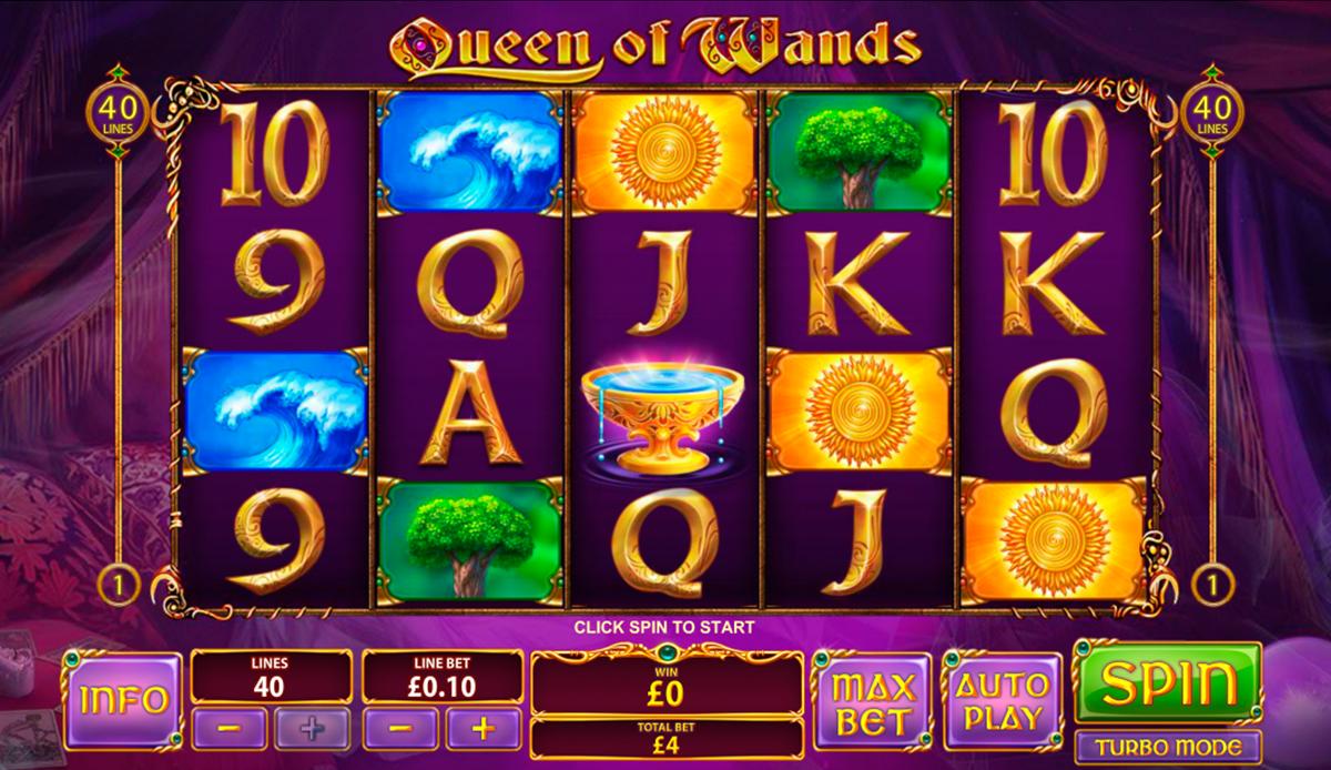 queen of wands playtech