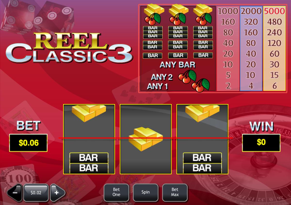 reel classic 3 playtech