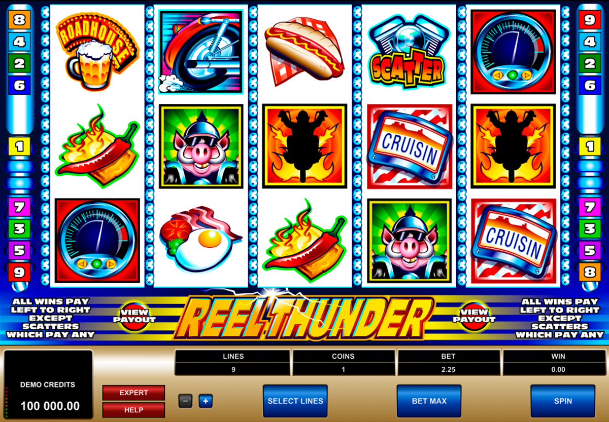 reel thunder microgaming