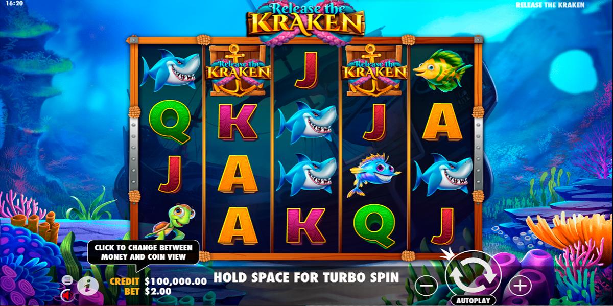 release the kraken pragmatic