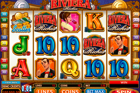 riviera riches microgaming