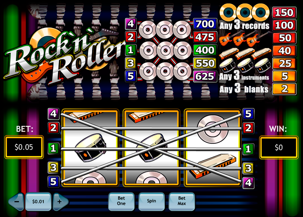 rocknroller playtech