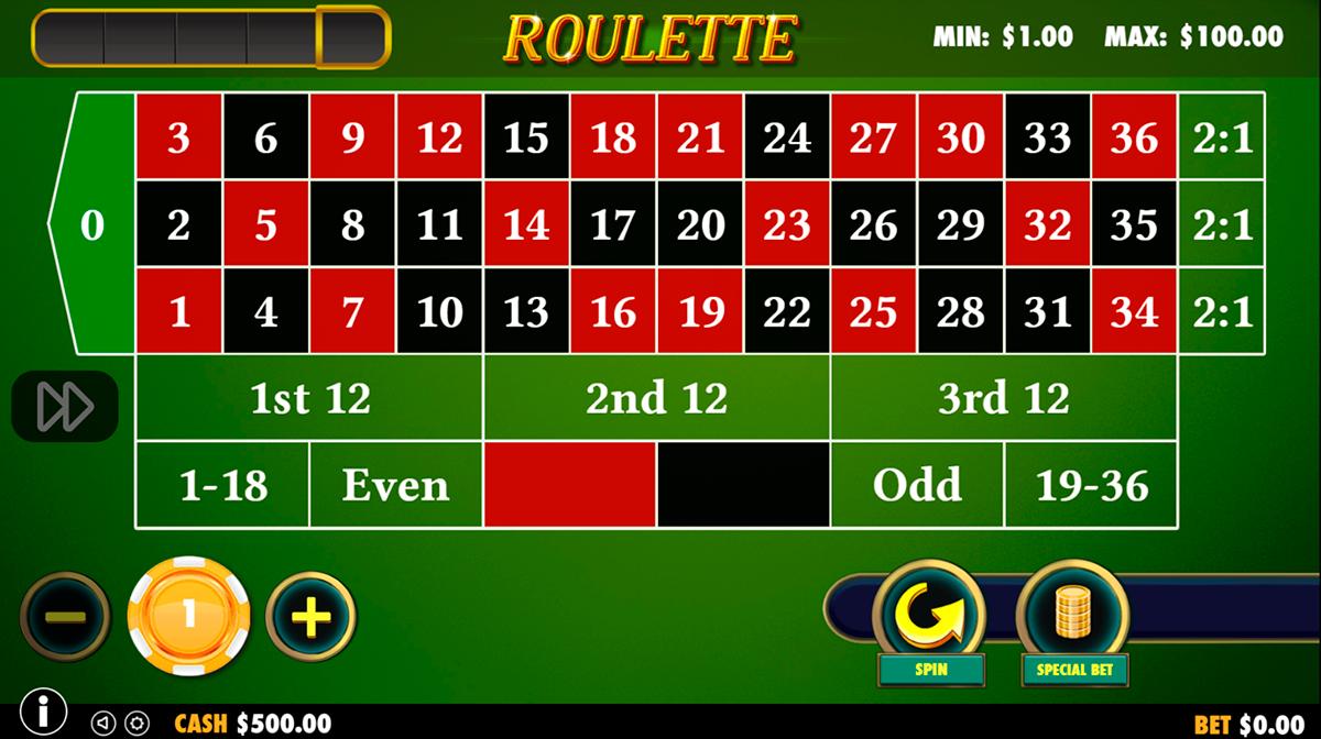 roulette pragmatic