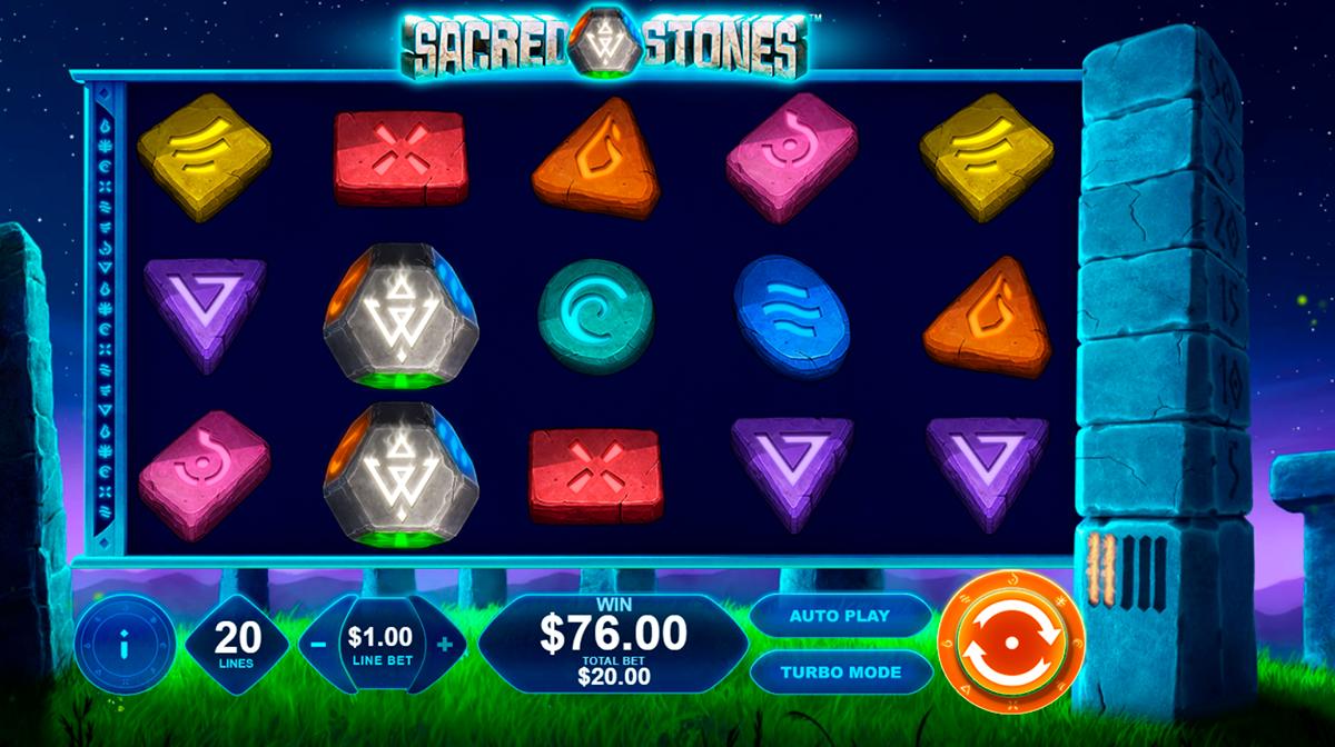 sacred stones playtech