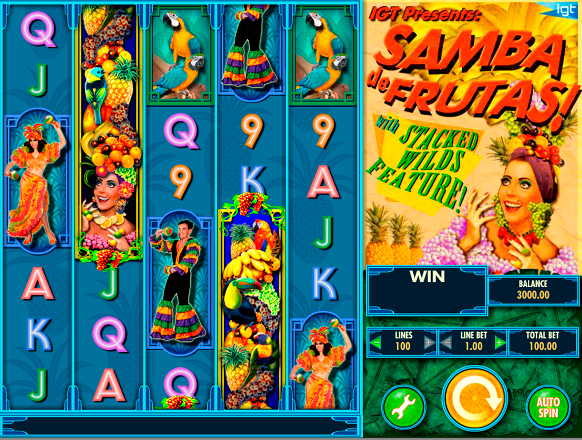 samba de frutas igt