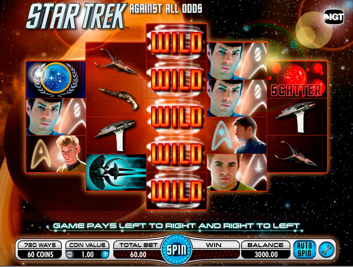 star trek against all odds igt