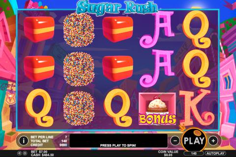 sugar rush pragmatic