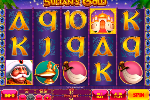 sultans gold playtech