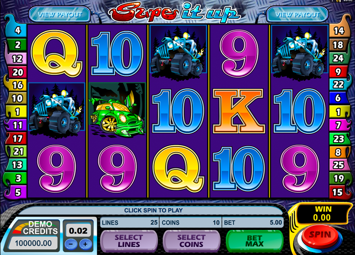 supe it up microgaming