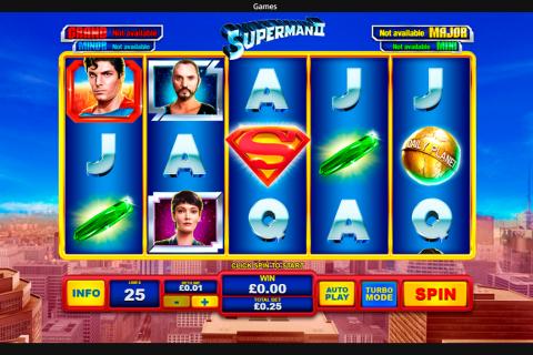 superman ii playtech