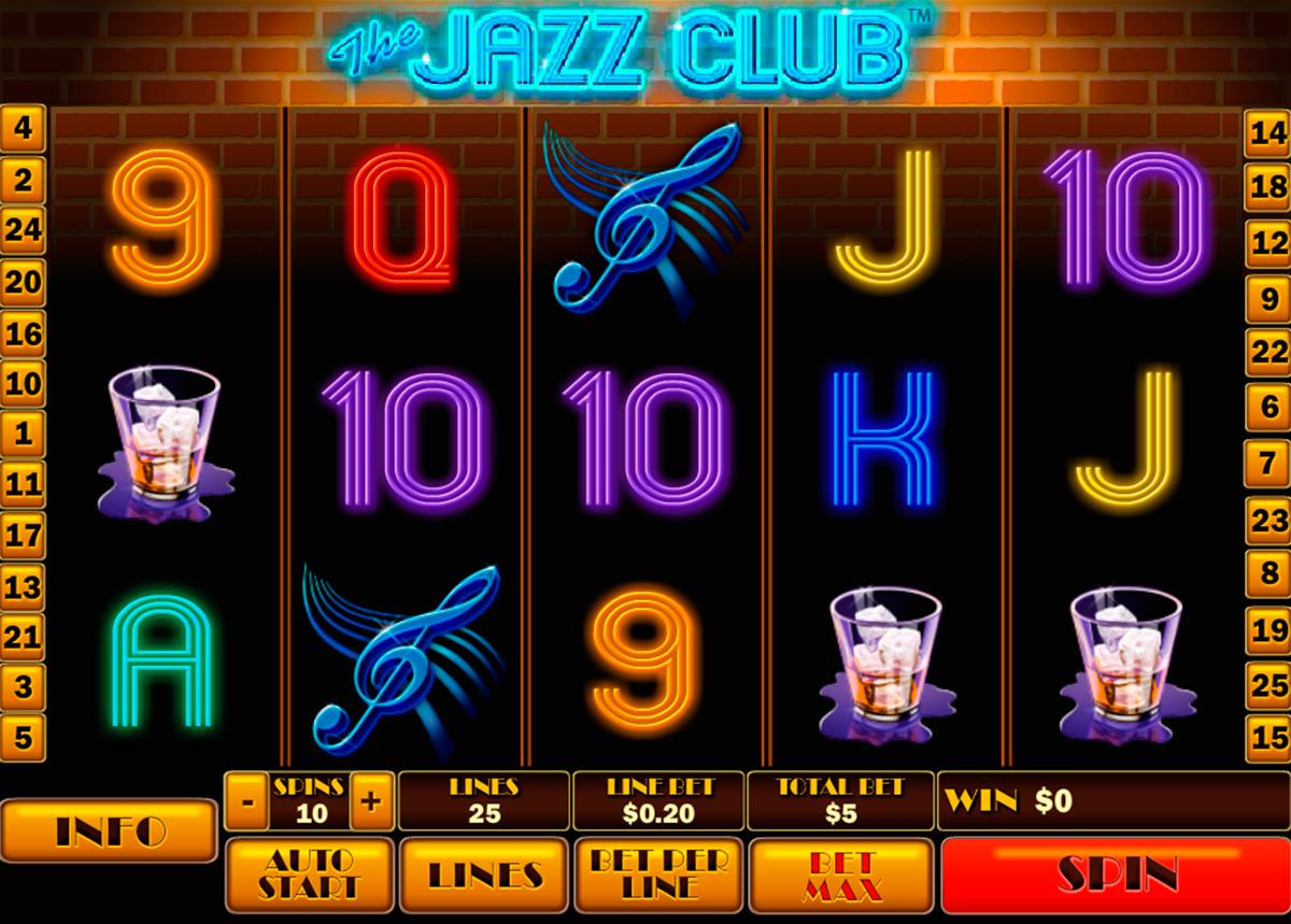 the jazz club playtech