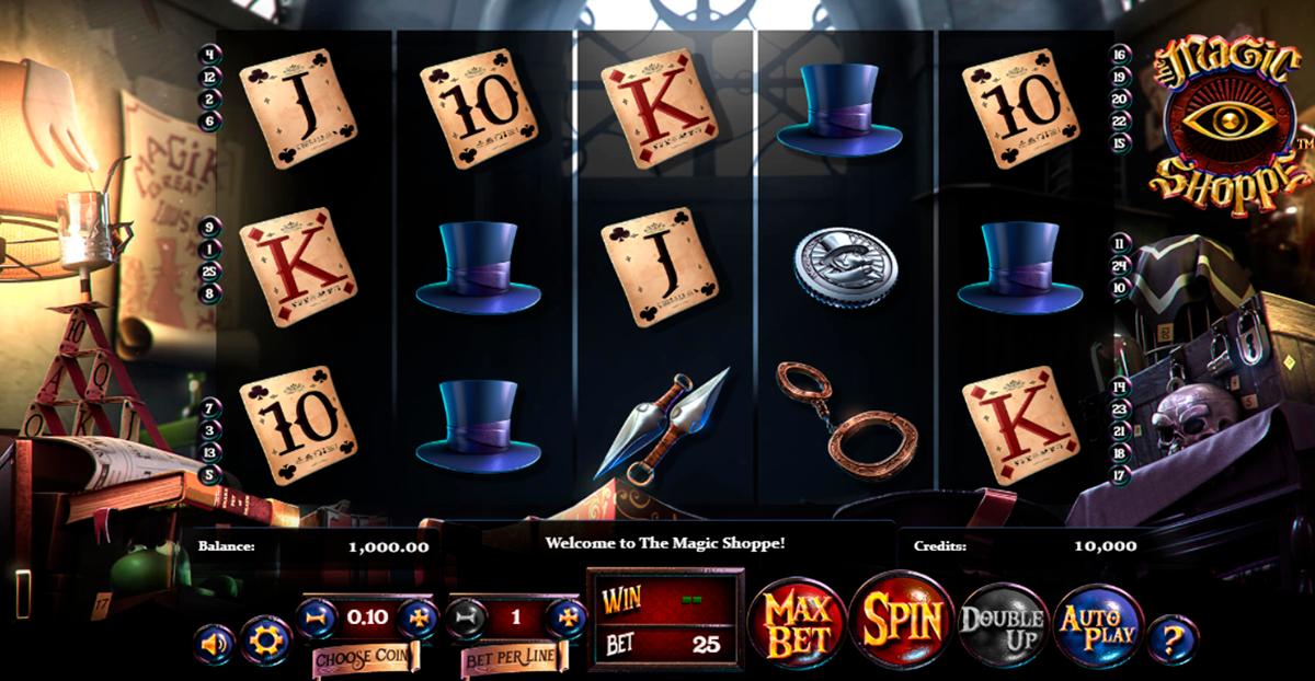 the magic shoppe betsoft