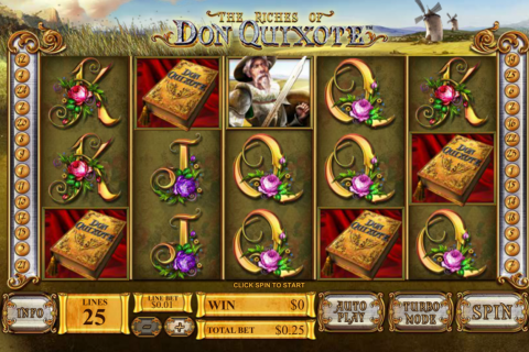 the riches of don quiote playtech