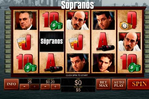 the sopranos playtech