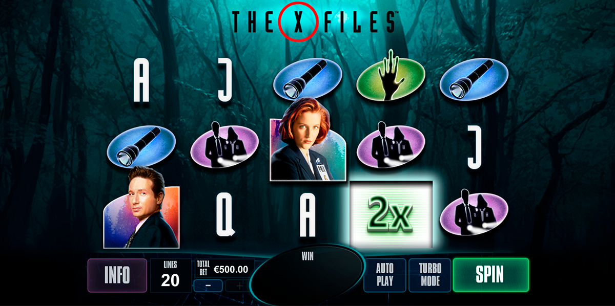 the xfiles playtech