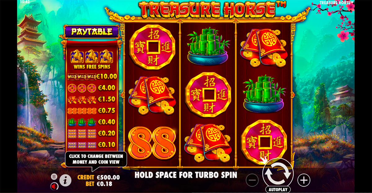 treasure horse pragmatic