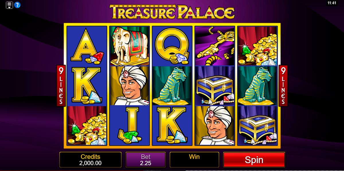 treasure palace microgaming