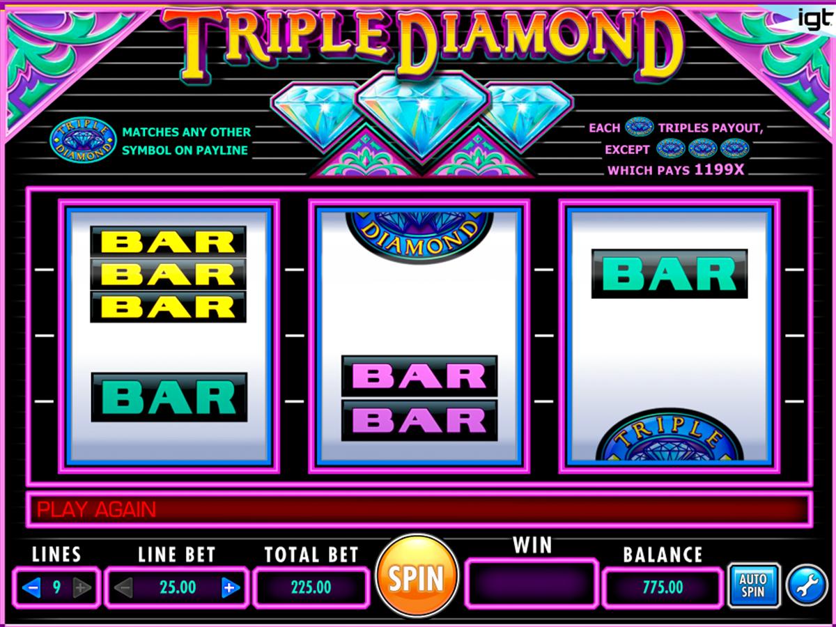 triple diamond igt