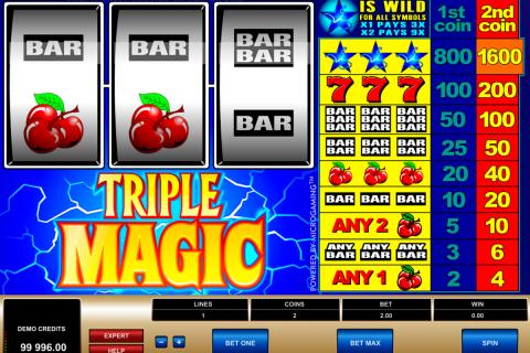 triple magic microgaming