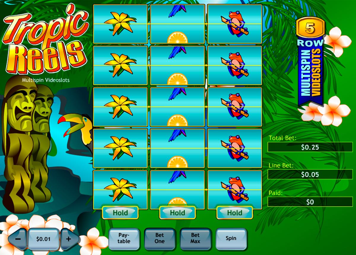 tropic reels playtech
