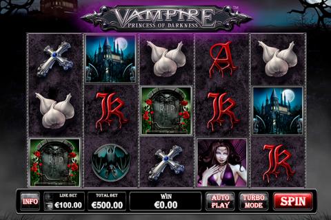 vampire princess of darkness playtech