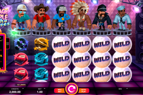 village people macho moves microgaming