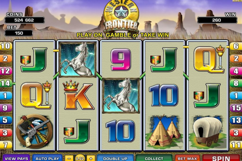 western frontier microgaming