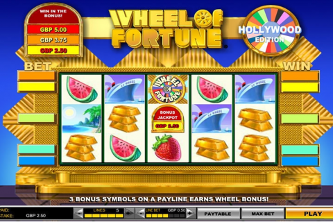 wheel of fortune hollywood edition igt