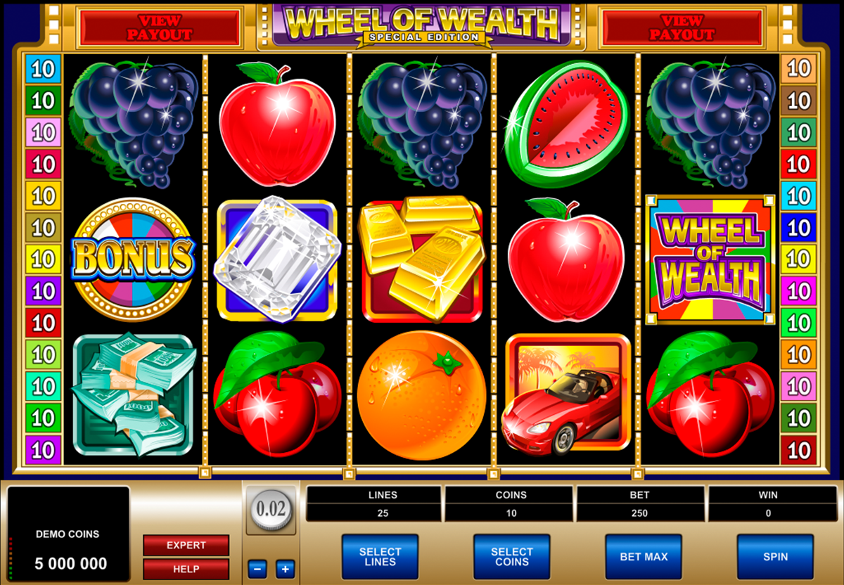 wheel of wealth special edition microgaming