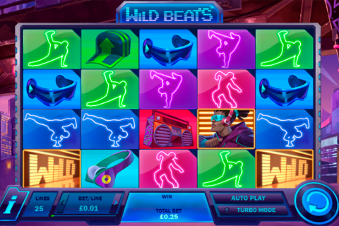 wild beats playtech