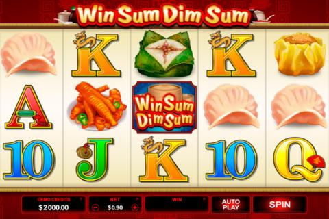 win sum dim sum microgaming